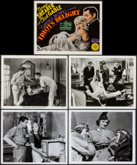 "Clark Gable Lot (MGM, 1933). Photos (4) & Color-Glos Photo (Approximately 8"" X 10""). Miscellaneous. ... (T..."