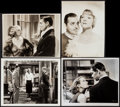 """Movie Posters:Miscellaneous, Clark Gable Lot (MGM, 1934). Photos (2) (Approximately 8"""" X 10"""")& Trimmed Photos (2) (7.25"""" X 9.25"""", 9.75""""). Miscellaneous....(Total: 4 Items)"""