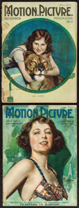 "Movie Posters:Miscellaneous, Motion Picture Magazine (Brewster Publications, 1920 & 1922).Magazines (2) (Multiple Pages, 8.5"" X 11.75""). Miscellaneous....(Total: 2 Items)"