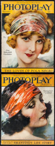 "Movie Posters:Miscellaneous, Photoplay (Photoplay Publishing Company, 1923). Magazines (2)(Multiple Pages, 8.5"" X 11.5""). Miscellaneous.. ... (Total: 2Items)"