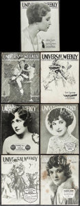 "Movie Posters:Miscellaneous, Universal Weekly (Universal, 1924-1925). Magazines (7) (MultiplePages, Approximately 8.25"" X 10.75""). Miscellaneous.. ... (Total: 7Items)"