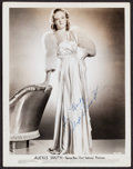 """Movie Posters, Alexis Smith (Warner Brothers, 1940s). Autographed Portrait Photo(8"""" X 10"""").. ..."""