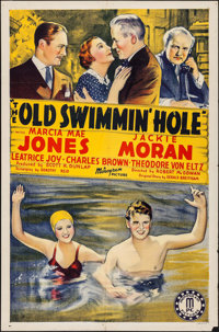 "The Old Swimmin' Hole (Monogram, 1940). Folded, Fine+. One Sheet (27"" X 41""). Drama"