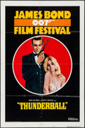 "Movie Posters:James Bond, James Bond Film Festival: Thunderball (United Artists, R-1975).Folded, Fine/Very Fine. International One Sheet (27"" X 41"") ..."