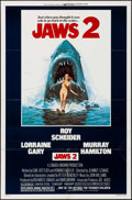 "Movie Posters:Horror, Jaws 2 (Universal, 1978). One Sheet (27"" X 41"") Lou Feck Artwork.Horror.. ..."