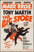 "Movie Posters:Comedy, The Big Store & Other Lot (MGM, R-1962). One Sheets (2) (27"" X41"") Al Hirschfeld Artwork. Comedy.. ... (Total: 2 Items)"
