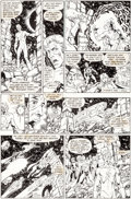Original Comic Art:Panel Pages, George Pérez and Jerry Ordway Crisis on Infinite Earths #12 Story Page 18 Original Art (DC, 1986)....
