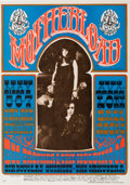 """Music Memorabilia:Posters, Big Brother and the Holding Company """"Motherload"""" Avalon Concert Poster FD-60 (Family Dog, 1967)...."""