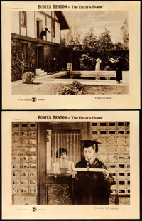 """The Electric House (First National, 1922). Lobby Cards (2) (11"""" X 14""""). ... (Total: 2 Items)"""