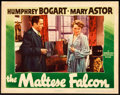 Movie Posters:Film Noir, The Maltese Falcon (Warner Brothers, 1941). Lobby ...
