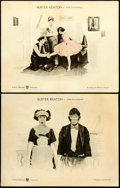 "Movie Posters:Comedy, The Playhouse (First National, 1921). Lobby Cards (2) (11"" X 14"")..... (Total: 2 Items)"
