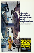 "Movie Posters:Science Fiction, 2001: A Space Odyssey (MGM, 1968). Cinerama One Sheet (27"" X 41"") Style C, with Letter (8.5"" X 11""), Robert McCall Artwork...."