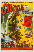 "Movie Posters:Science Fiction, Godzilla (Trans World, 1956). One Sheet (27"" X 41"").. ..."