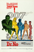 """Movie Posters:James Bond, Dr. No (United Artists, 1962). One Sheet (27"""" X 41"""") Colored SmokeStyle, Mitchell Hooks Artwork.. ..."""
