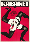"Movie Posters:Musical, Cabaret (Allied Artists, 1973). Polish One Sheet (23"" X 33"") WictorGorka Artwork.. ..."