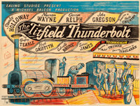 "The Titfield Thunderbolt (GFD, 1953). Printer's Proof British Quad (31"" X 41"") Edward Bawden Artwork"