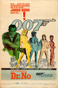 """Movie Posters:James Bond, Dr. No (United Artists, 1962). Poster (40"""" X 60"""") Mitchell Hooks Artwork.. ..."""
