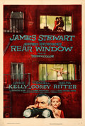 """Movie Posters:Hitchcock, Rear Window (Paramount, 1954). One Sheet (27"""" X 41..."""