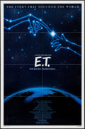 "Movie Posters:Science Fiction, E.T. The Extra-Terrestrial (Universal, R-1985). One Sheet (27"" X41"") John Alvin Artwork. Science Fiction.. ..."