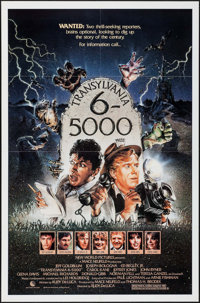 "Transylvania 6-5000 & Other Lot (New World, 1985). One Sheets (2) (27"" X 41"" & 26"" X 39.5..."