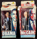 Movie Posters:Miscellaneous, Barack Obama & Other Lot (Jailbreak Toys, 2007 & 2008).Barack Obama & John McCain 6-inch Action Figures in OriginalBoxes (... (Total: 2 Items)