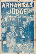 "Movie Posters:Drama, Arkansas Judge & Others Lot (Republic, R-1948). One Sheets (2)(27"" X 41"") & Trimmed One Sheet (25"" X 38.75""). Drama.. ...(Total: 3 Items)"