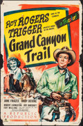 "Movie Posters:Western, Grand Canyon Trail & Other Lot (Republic, 1948). One Sheets (5)(Approximately 27"" X 41""). Western.. ... (Total: 5 Items)"