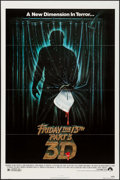 """Movie Posters:Horror, Friday the 13th Part 3 & Other Lot (Paramount, 1982). OneSheets (2) (27"""" X 41""""). Horror.. ... (Total: 2 Items)"""