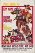 "Movie Posters:Drama, Circus World (Paramount, 1965). Folded, Very Fine-. One Sheet (27"" X 41"") Frank McCarthy Artwork. Drama.. ..."
