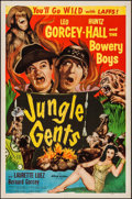 "Movie Posters:Comedy, Jungle Gents (Allied Artists, 1954). One Sheet (27"" X 41"").Comedy.. ..."