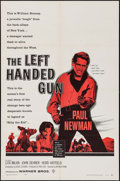 "Movie Posters:Western, The Left Handed Gun & Other Lot (Warner Brothers, 1958). OneSheets (2) (27"" X 41""). Western.. ... (Total: 2 Items)"