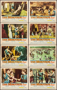 """The Minotaur & Other Lot (United Artists, 1961). Lobby Card Set of 8 & Lobby Cards (8) (11"""" X 14&qu..."""