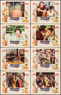 "Movie Posters:Romance, Paris When It Sizzles (Paramount, 1964). Lobby Card Set of 8 (11"" X 14""). Romance.. ... (Total: 8 Items)"
