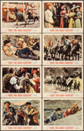 "Movie Posters:Western, Ride the High Country (MGM, 1962). Lobby Card Set of 8 (11"" X 14"").Western.. ... (Total: 8 Items)"