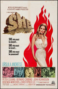 "Movie Posters:Fantasy, She (MGM, 1965). One Sheet (27"" X 41""). Fantasy.. ..."