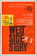 "Movie Posters:Academy Award Winners, West Side Story (United Artists, 1961). One Sheet (27"" X 41""). SaulBass and Joseph Caroff Artwork. Academy Award Winners.. ..."