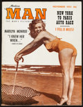 """Marilyn Monroe in Modern Man Magazine (Rosen, 1953). Pin-Up Magazine (52 Pages, 8.5"""" X 11""""). Miscellaneous..."""