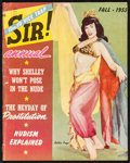 "Movie Posters:Miscellaneous, Sir! Annual (Volitant Publishing, 1955). Magazine (84 Pages, 8.5"" X10.75""). Miscellaneous.. ..."