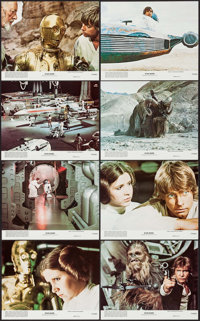 "Star Wars (20th Century Fox, 1978). Mini Lobby Card Set of 8 (8"" X 10""). Science Fiction. ... (Total: 8 Items)"