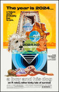 "Movie Posters:Science Fiction, A Boy and His Dog (Aquarius Releasing, 1975). One Sheet (27"" X412"") Robert Tanenbaum Artwork. Science Fiction.. ..."