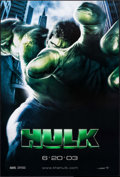 "Movie Posters:Science Fiction, Hulk (Universal, 2003). One Sheet (27"" X 40"") DS Advance. ScienceFiction.. ..."