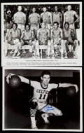 Autographs:Photos, Basketball Greats Signed Image Lot of 5.. ...