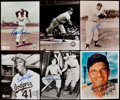 Autographs:Photos, Baseball Greats Signed Photograph Lot of 10.. ...