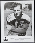 Autographs:Photos, Don Huston Signed Hall of Fame Photograph.. ...