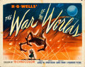 """Movie Posters:Science Fiction, The War of the Worlds (Paramount, 1953). Half Sheet (22"""" X 28"""")Style A.. ..."""