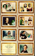 """Movie Posters:Academy Award Winners, Gone with the Wind (MGM, 1939). Roadshow Lobby Card Set of 8 (11"""" X14"""") Armando Seguso Artwork.. ... (Total: 8 Items)"""