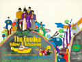 "Movie Posters:Animation, Yellow Submarine (United Artists, 1968). British Quad (30"" X 40"")Heinz Edelmann Artwork.. ..."
