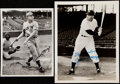 Autographs:Photos, c. 1940s-50s Johnny Mize Signed Vintage Photograph Lot of 2.. ...