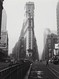 Photographs:Gelatin Silver, Lou Stoumen (American, 1917-1991). Times Square, New York City, circa 1940s. Gelatin silver. 12 x 9 inches (30.5 x 22.9 ...