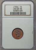 Indian Cents: , 1896 1C MS65 Red and Brown NGC. NGC Census: (68/3). PCGS Population: (35/4). CDN: $300 Whsle. Bid for problem-free NGC/PCGS...